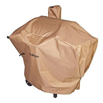Camp Chef Pellet Grill/Smoker Patio Cover for PG24, Long, Ta