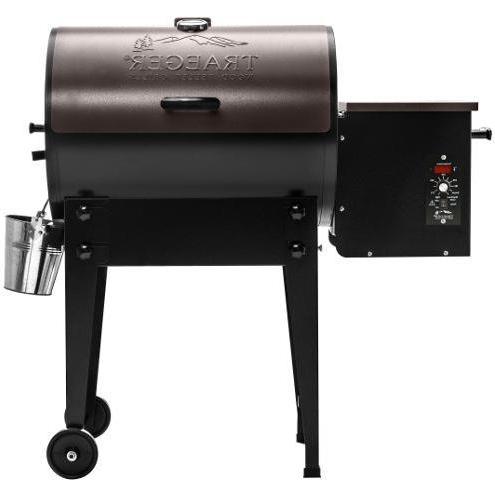 Traeger Pellet Grills BBQ155.01 19.5K BTU Pellet Grill