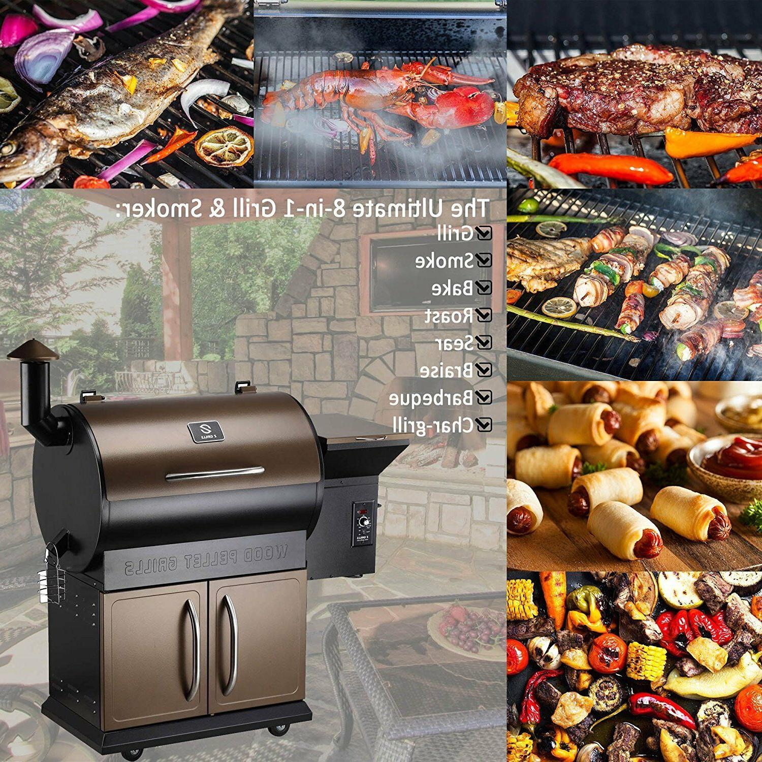 Z Pellet BBQ with FREE COVER
