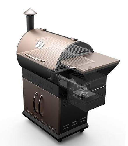 Z GRILLS Wood Pellet BBQ Grill and Smoker with FREE COVER