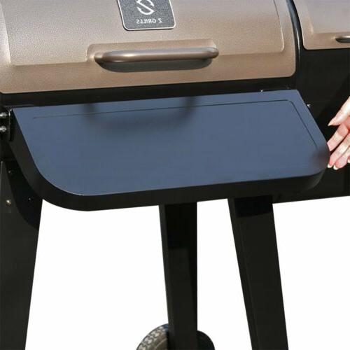 ZGRILLS Grill and Smoker& Digital Controls+Free Cover