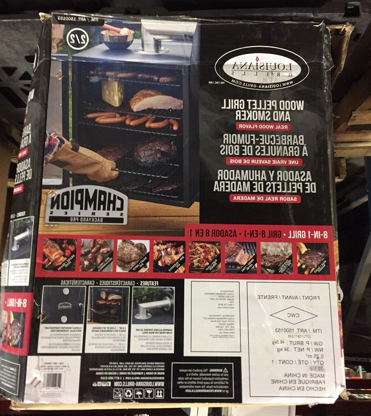 Louisiana Grills Champion Grill & Smoker 1500153