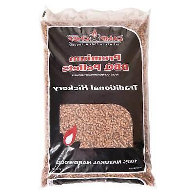 bag hardwood hickory pellets