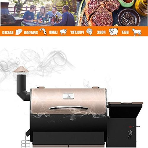 Wood Grilling Smoking Cooking Per in USA