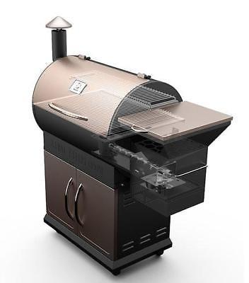 2019 ZGrills 700D Smoker Cooking Barbecue