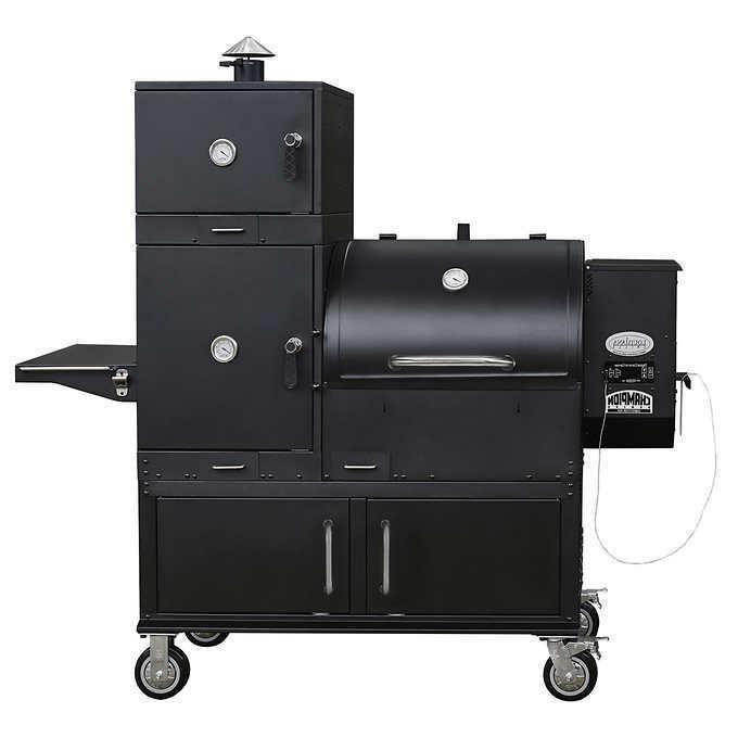 champion competition pro wood pellet grill