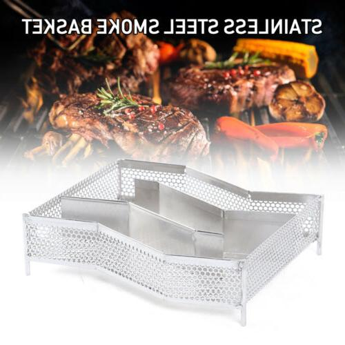 Cold Box Stainless Steel Wood Pellet BBQ Grill