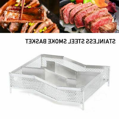 Cold Smoked Stainless Wood Pellet Smoker Grill JPMN