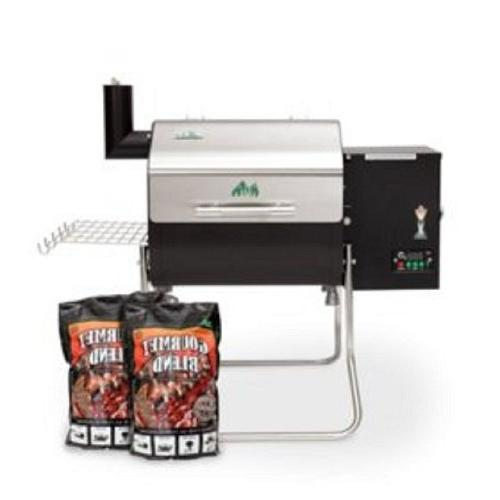 Green Mountain Crockett Grill with Pack Blend