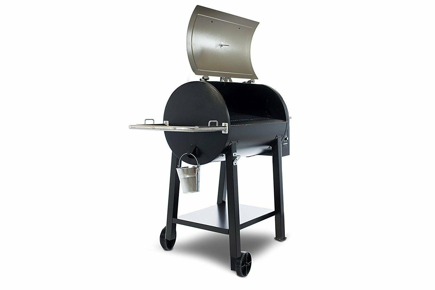 NEW DELUXE 440D WOOD GRILL COPPER HEAVY DUTY