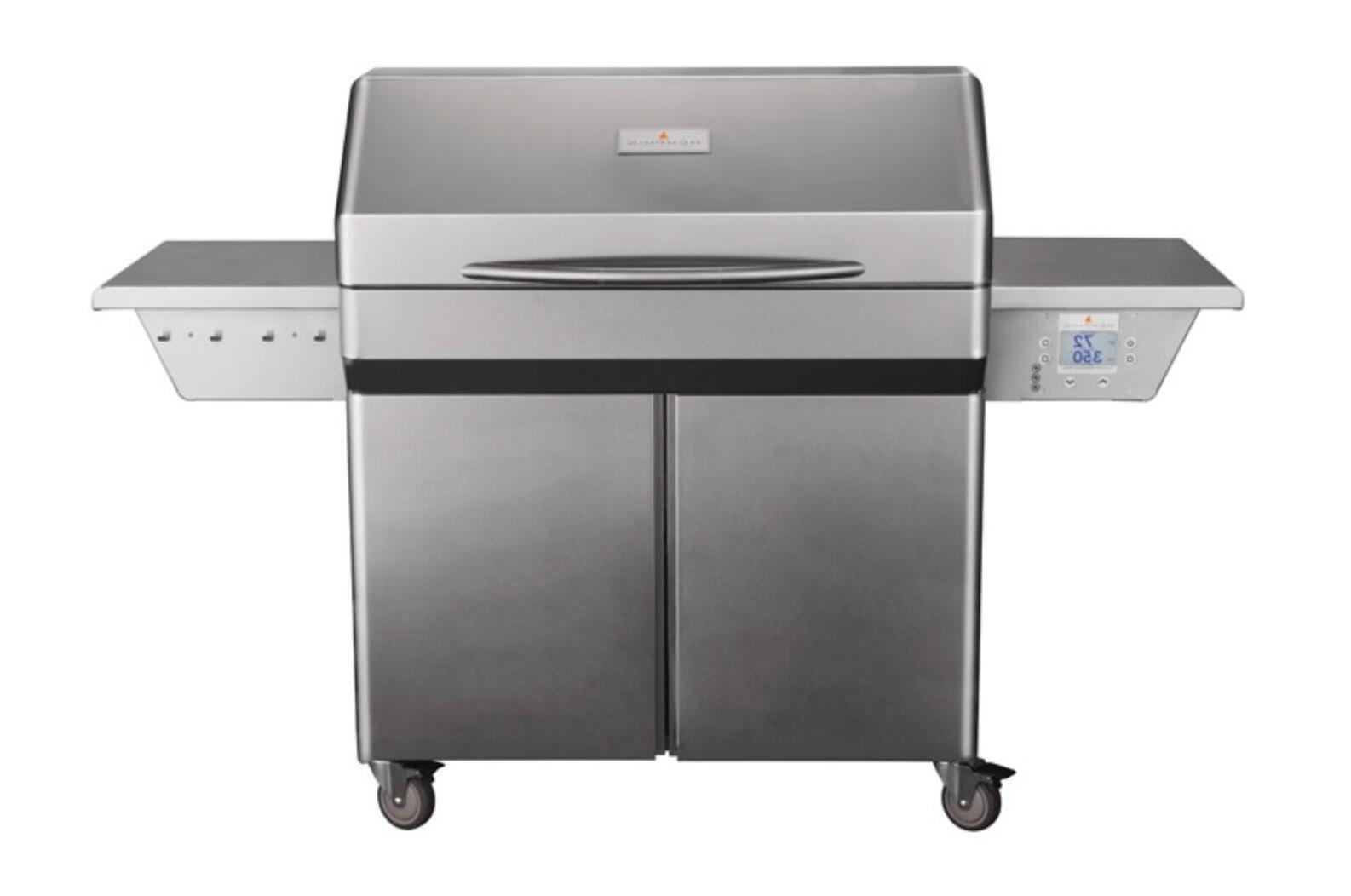 elite pellet grill cart
