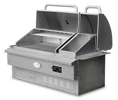 estate 860 built in pellet grill authorized