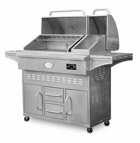estate 860c cart pellet grill stainless steel