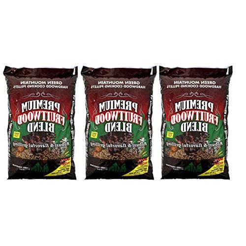 fruitwood hardwood grilling cooking pellets
