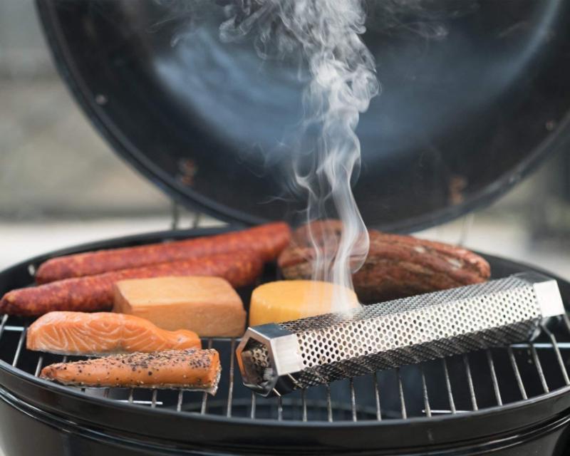 12 Inch Smoker Wood Pellet Hot Mesh Tube Barbecue