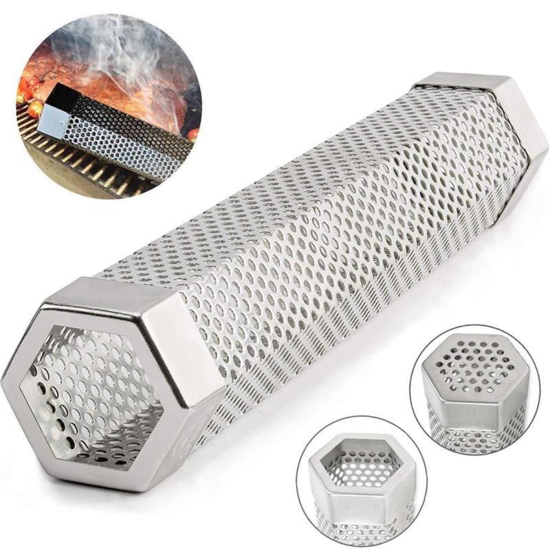 12 Inch Smoker Wood Pellet Hot Mesh Barbecue Tools