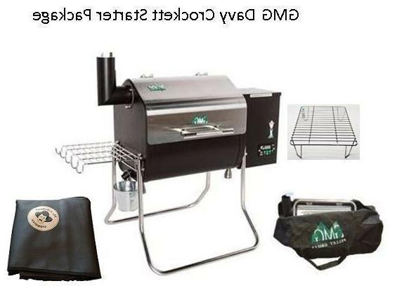 gmg davy crockett pellet grill bbq starter