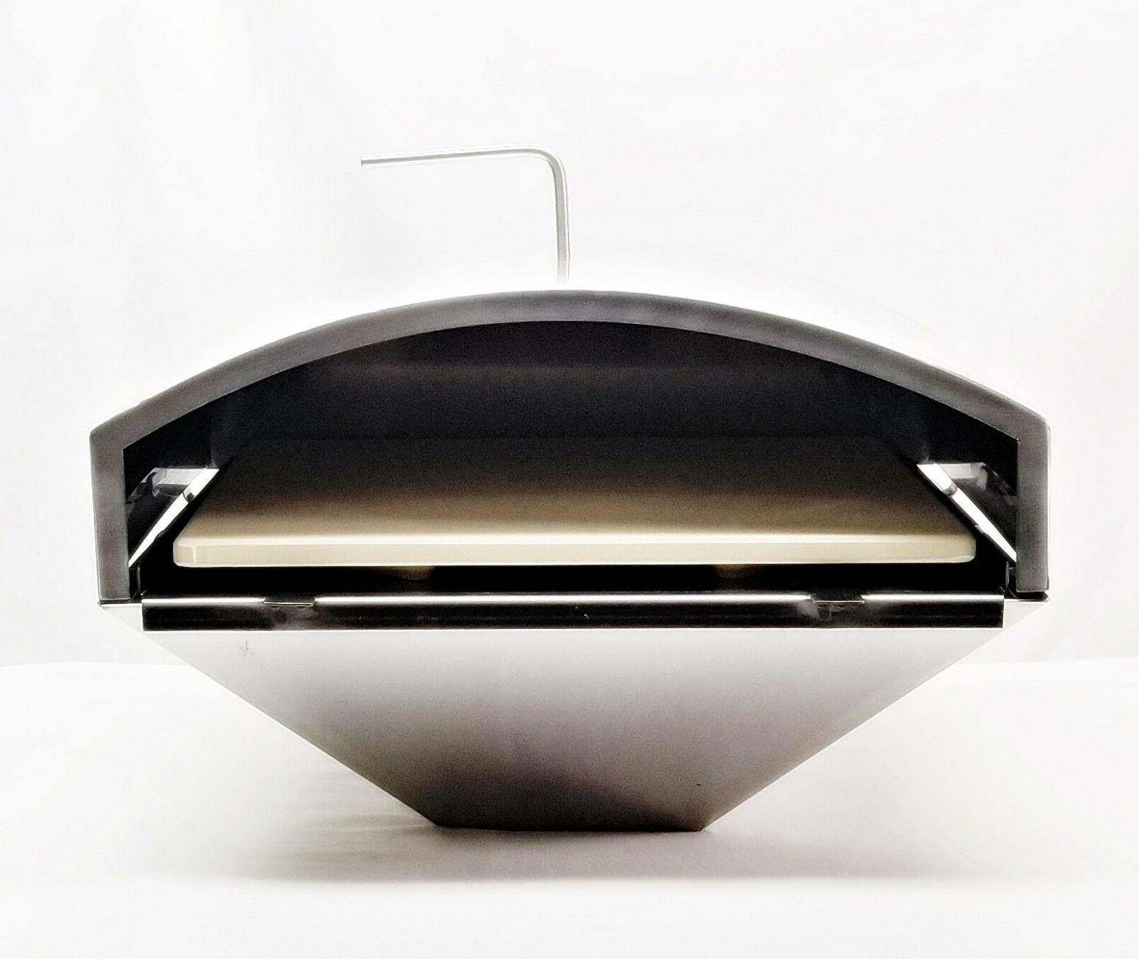 gmg pellet grill pizza oven attachment db