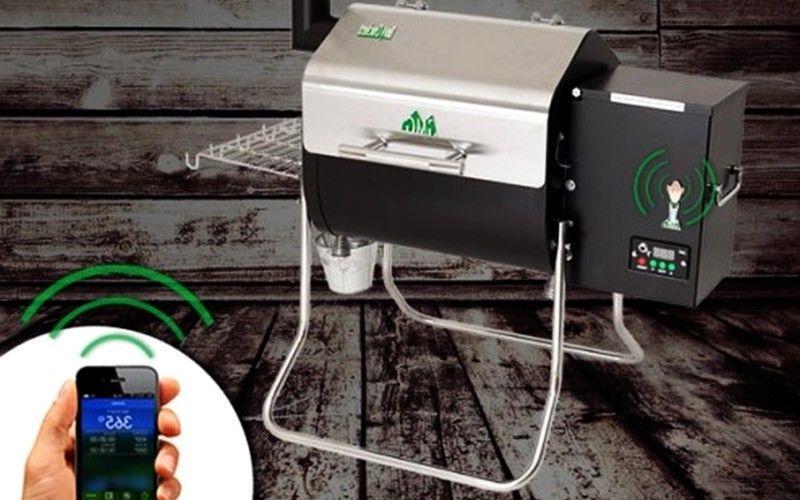 GMG Crockett Grill BBQ DCWF+PH-SMC+6014+6016R
