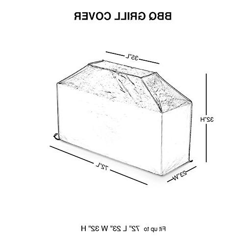 Abba Patio 72-Inch Outdoor Cover