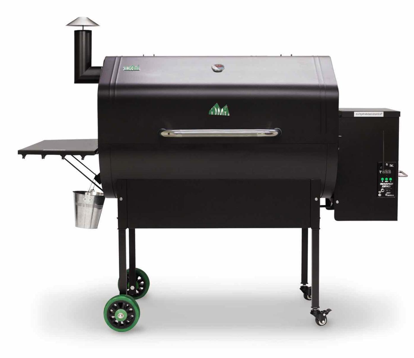 grills jim bowie wifi wood fired pellet