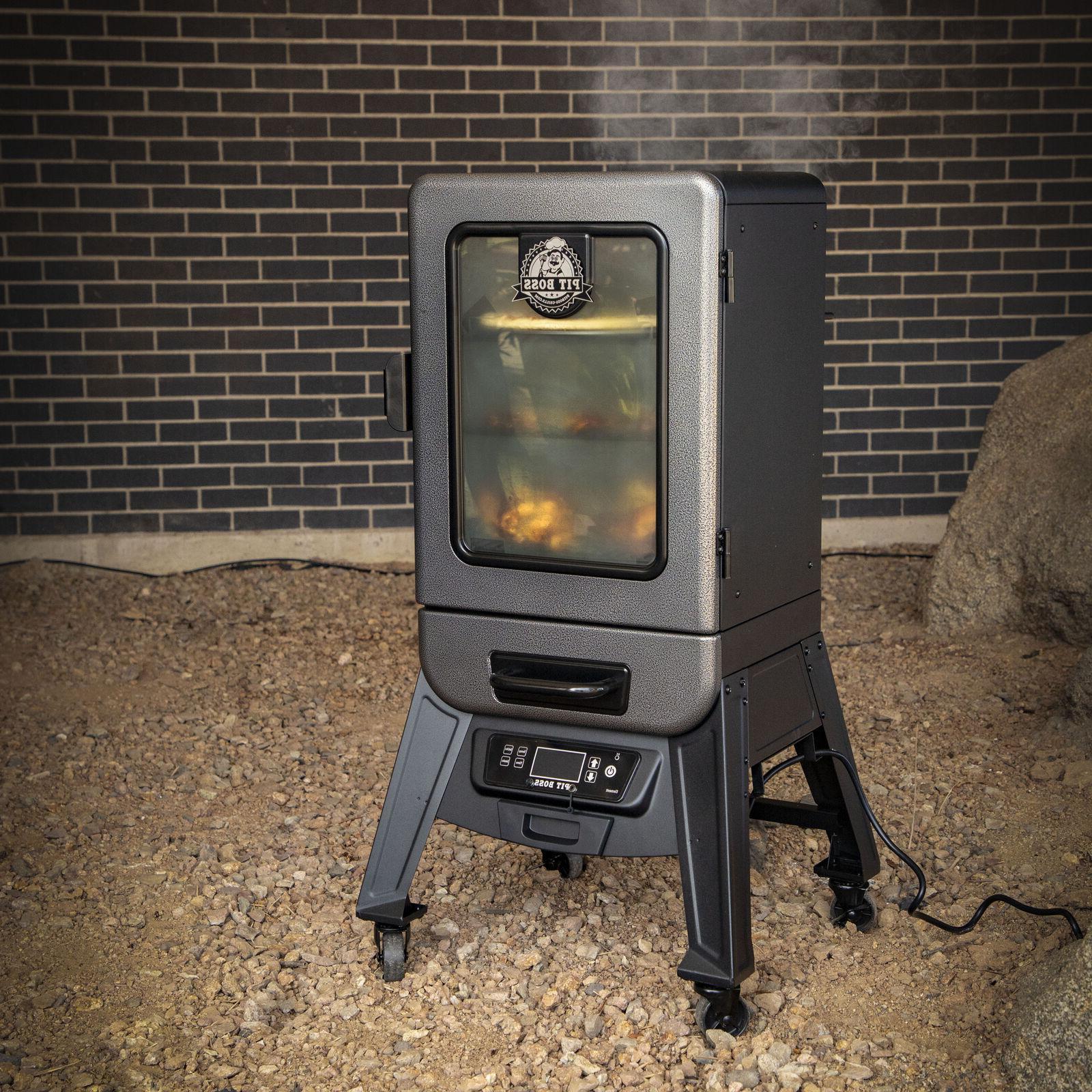 Electric Vertical Pellet Roast Grill Portable 2.0