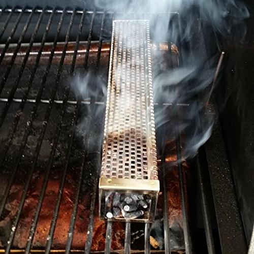 "12"" SMOKE HOT COLD ALL BBQ'S."