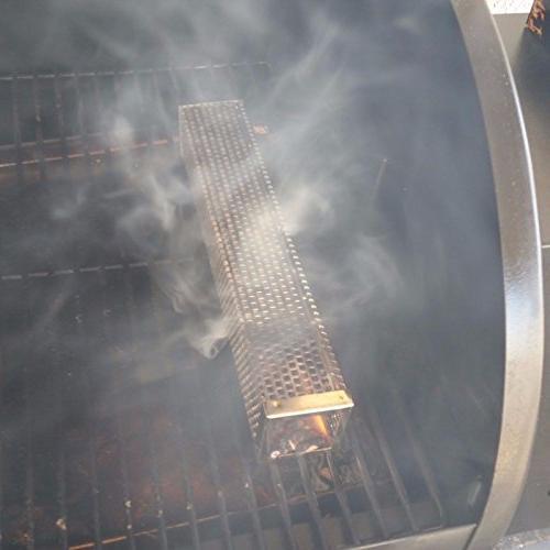 """12"""" HEXAGON SMOKE TUBE. COLD WITH ALL USA"""