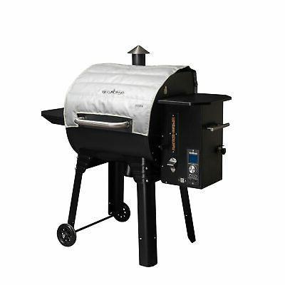 insulated pellet grill blanket 24 pg24blkl