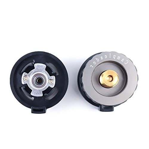Kitchen Connexion Connector Outdoor & - Camping Picnic Stove Tank Bottle Connector -