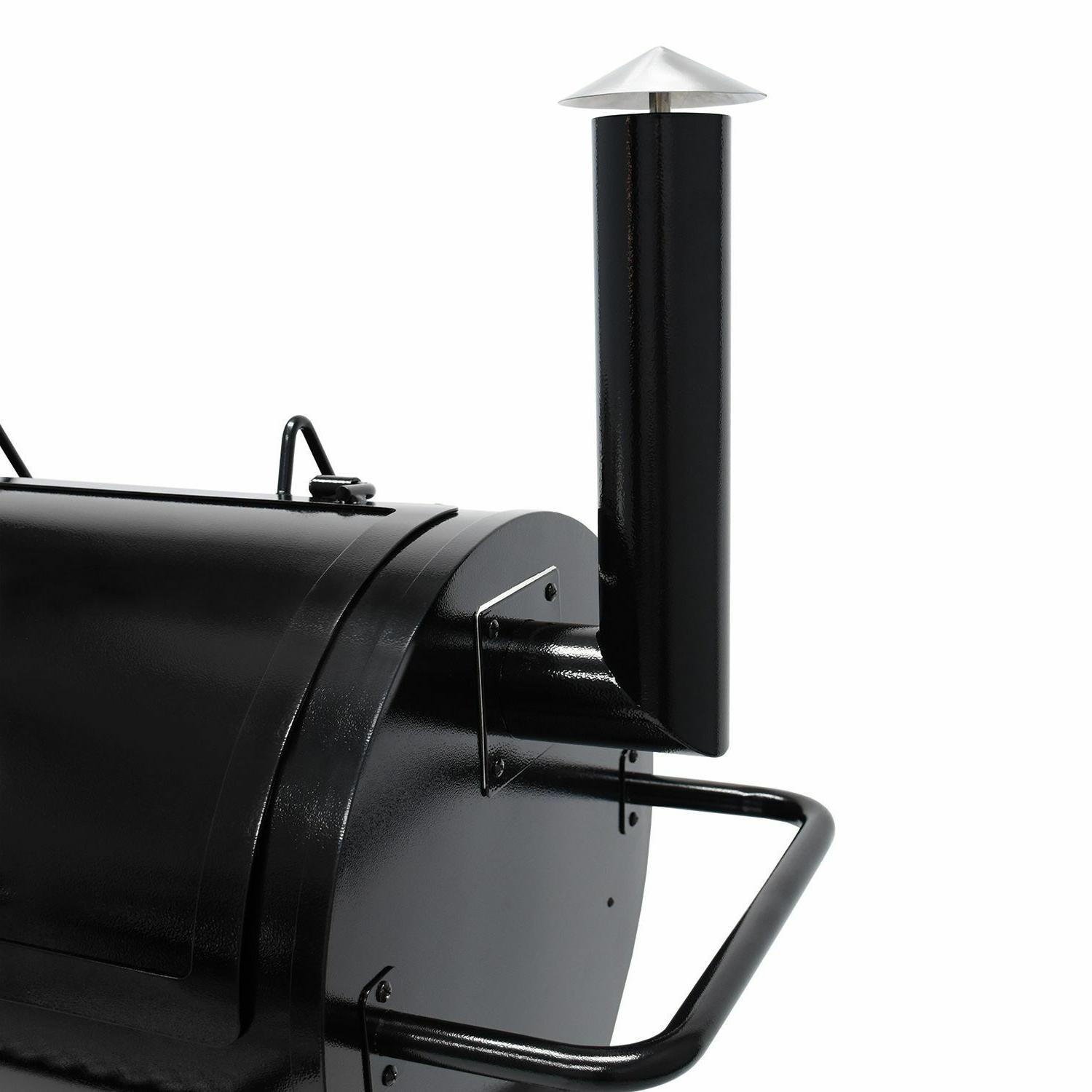 Large Pellet Smoker Grill sq Cooking