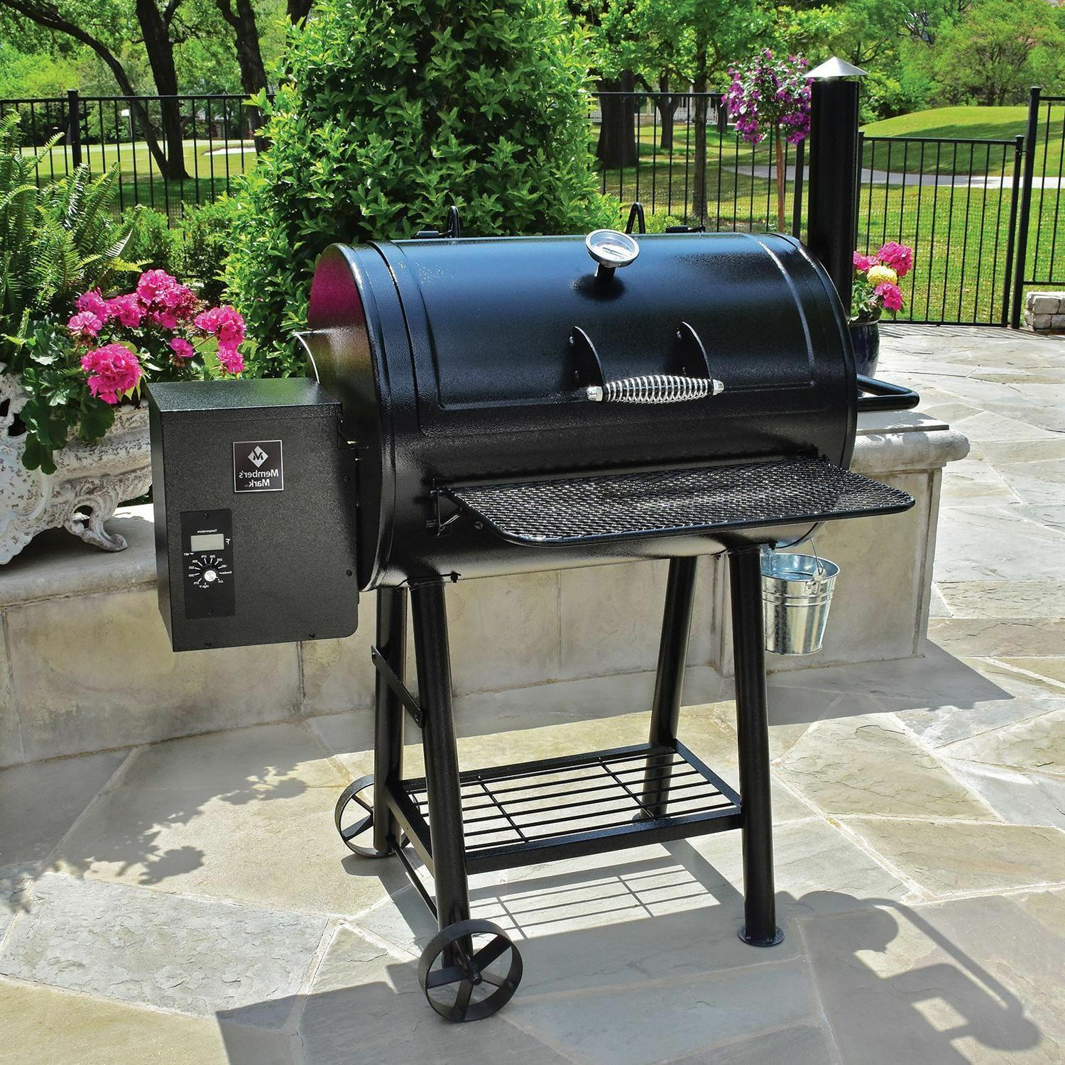 large 28 pellet smoker grill 751 sq