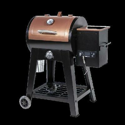 Pit Boss sq. in. Wood Grill w/ Flame Broiler and Meat Probe