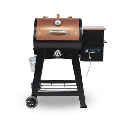 lexington 500 sq in wood pellet grill