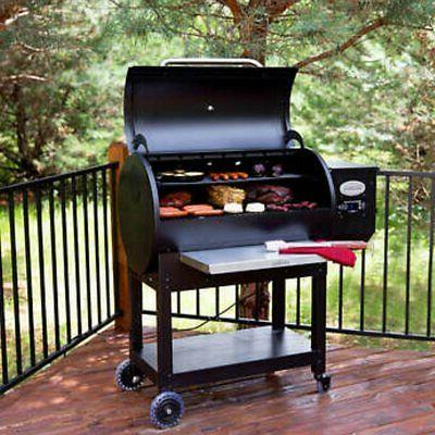 lg900 pellet grill with flame broiler outdoor