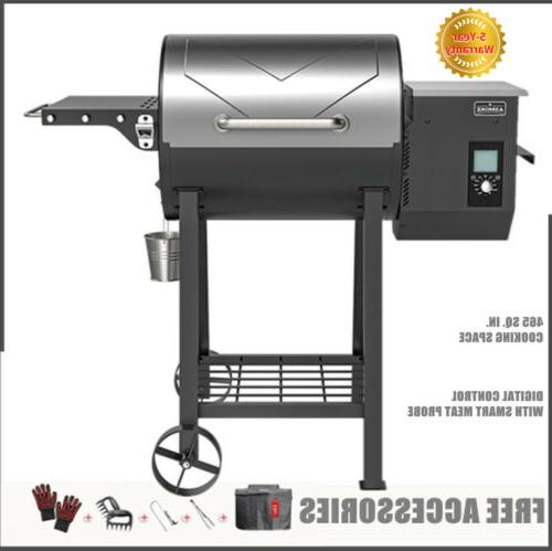 max 500 wood pellet grill 8 in