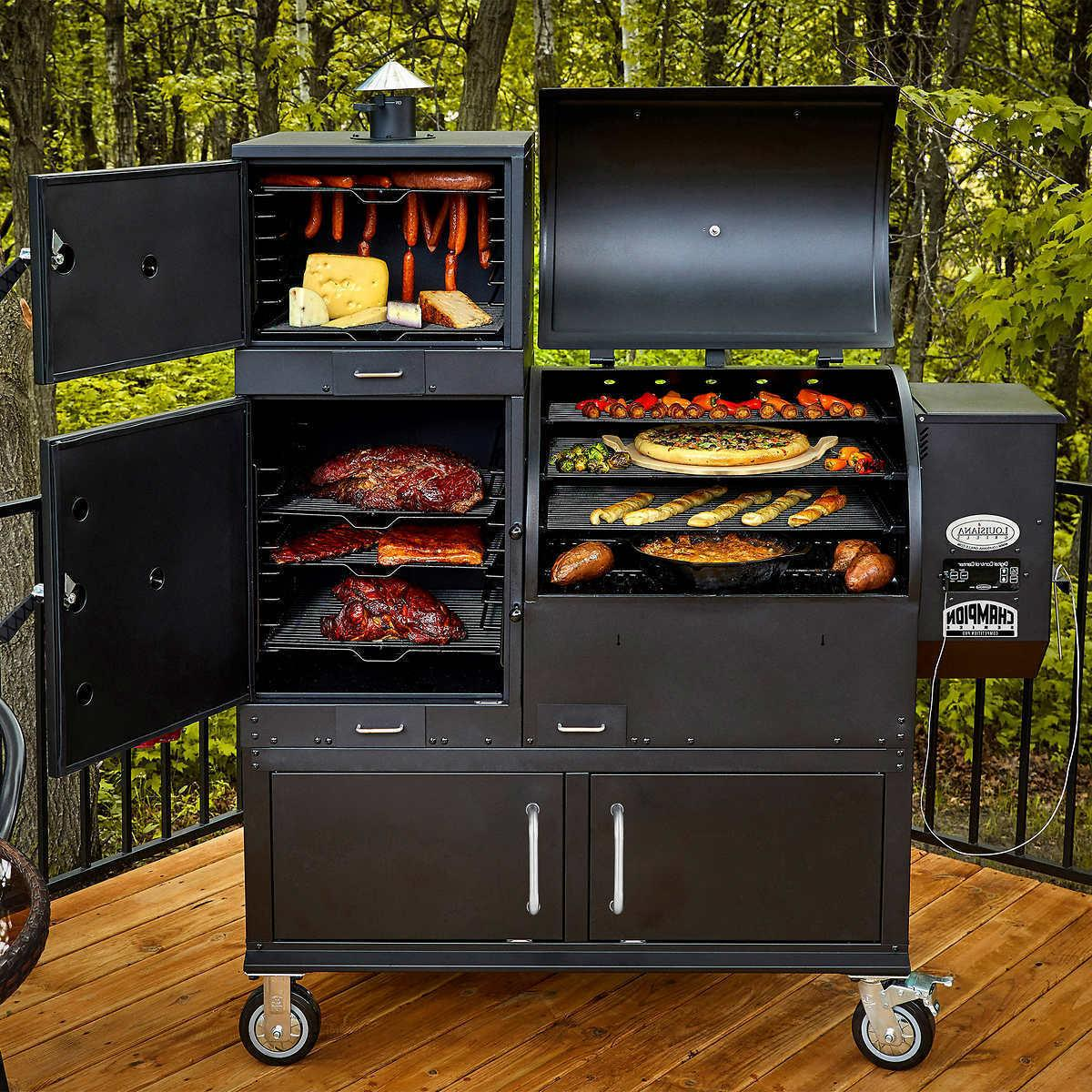 new champion competition pro wood pellet grill