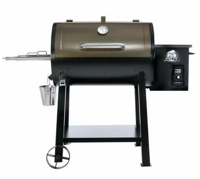 new deluxe 440d patio wood pellet grill
