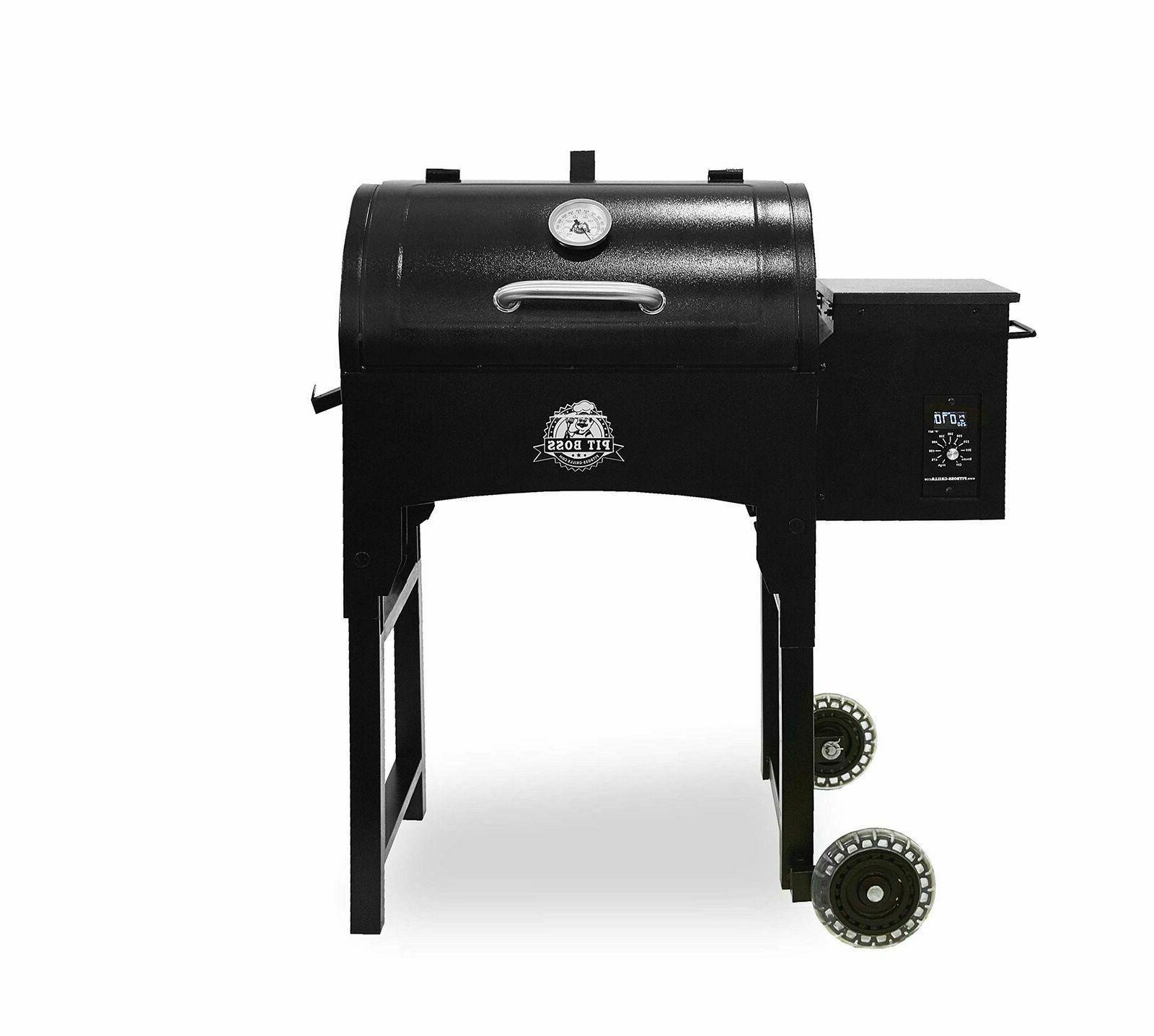 pb340 portable wood folding legs pellet grill