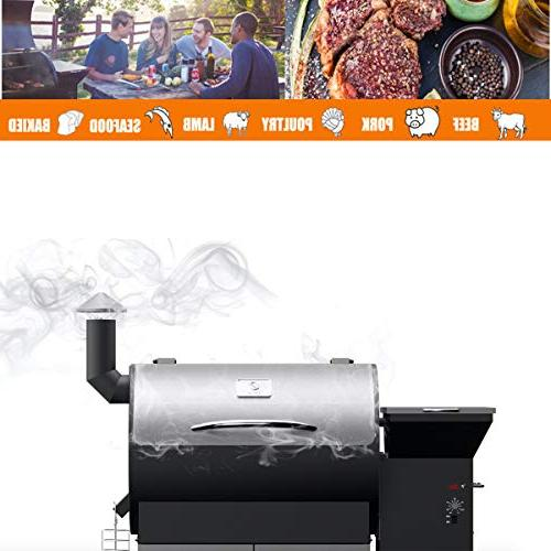 Z Pellet Grill Outdoor BBQ Smoker 2019 New Stainless sq