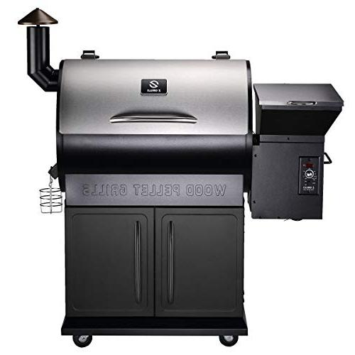 Z Pellet Outdoor Smoker New Heavy Stainless Lid, sq Cooking in 1 Grill