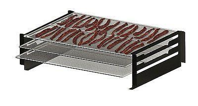 pellet grill and smoker jerky rack