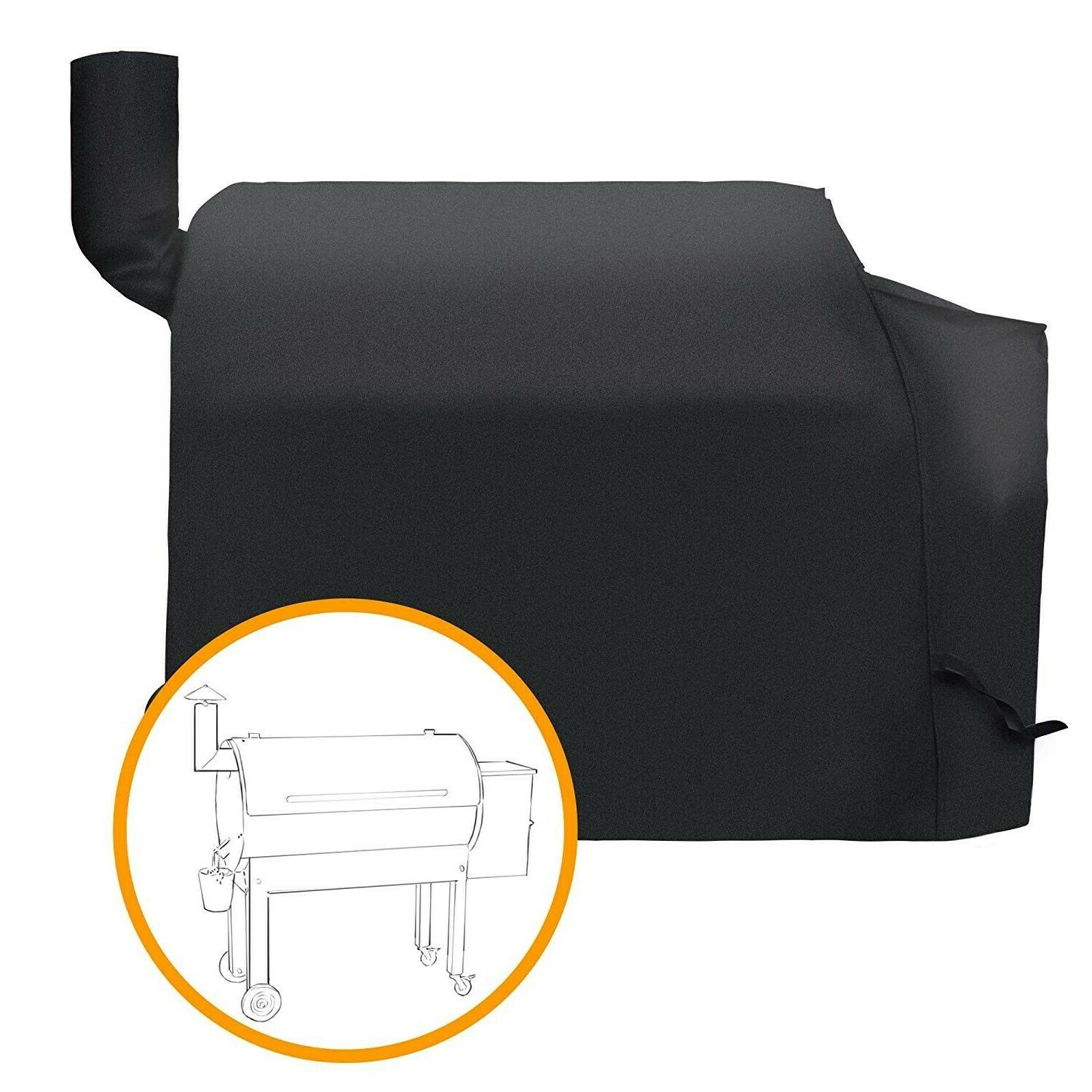 Pellet Grill Cover Smoker Heavy Duty Waterproof Patio Outdoo