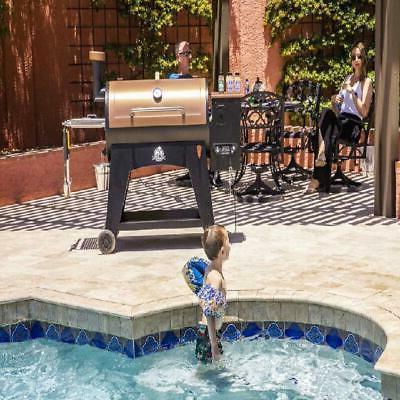 Pit Pellet Flame Broiler Probe Austin Sq