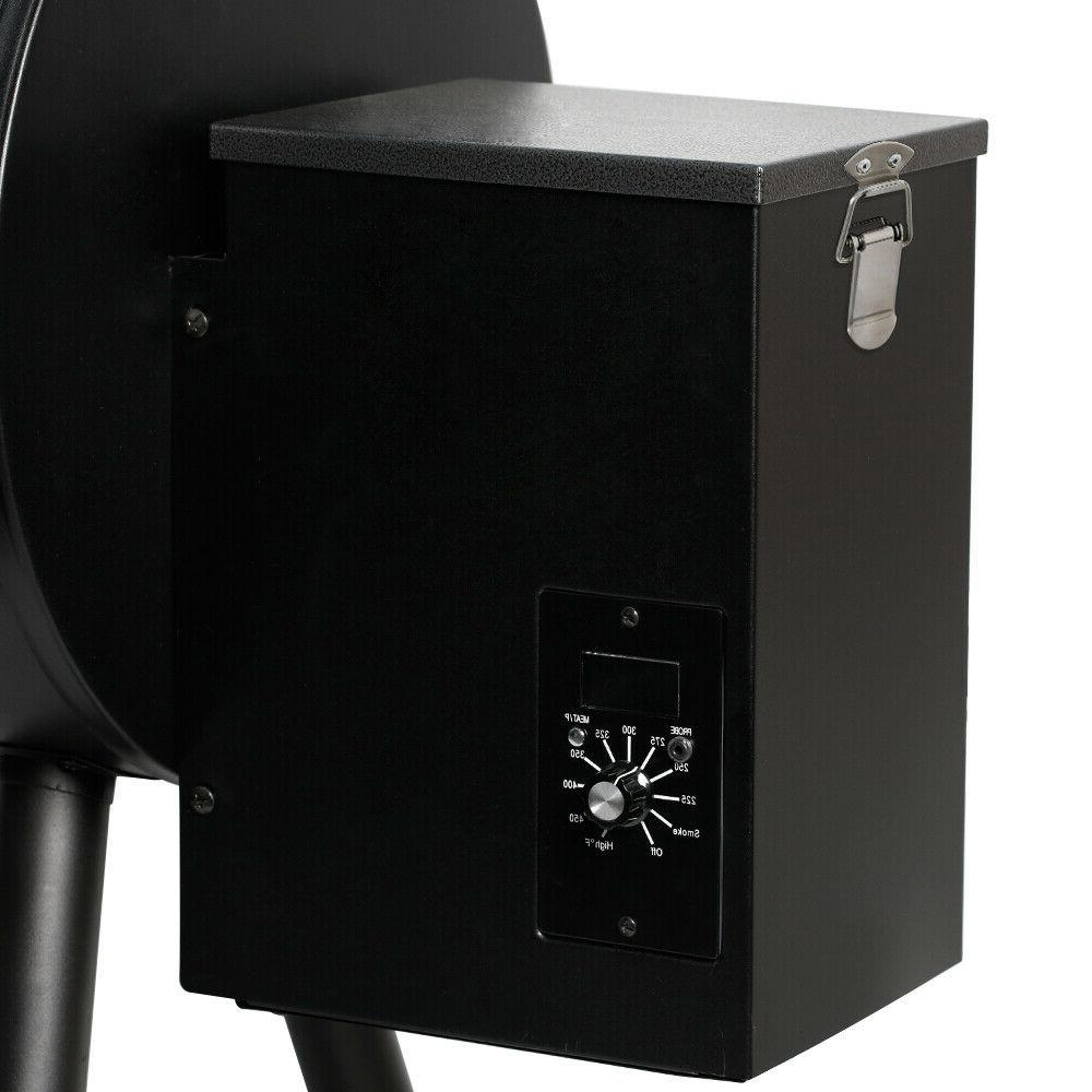 2019 HORN Pellet Grill Wood Smoker Auto Best