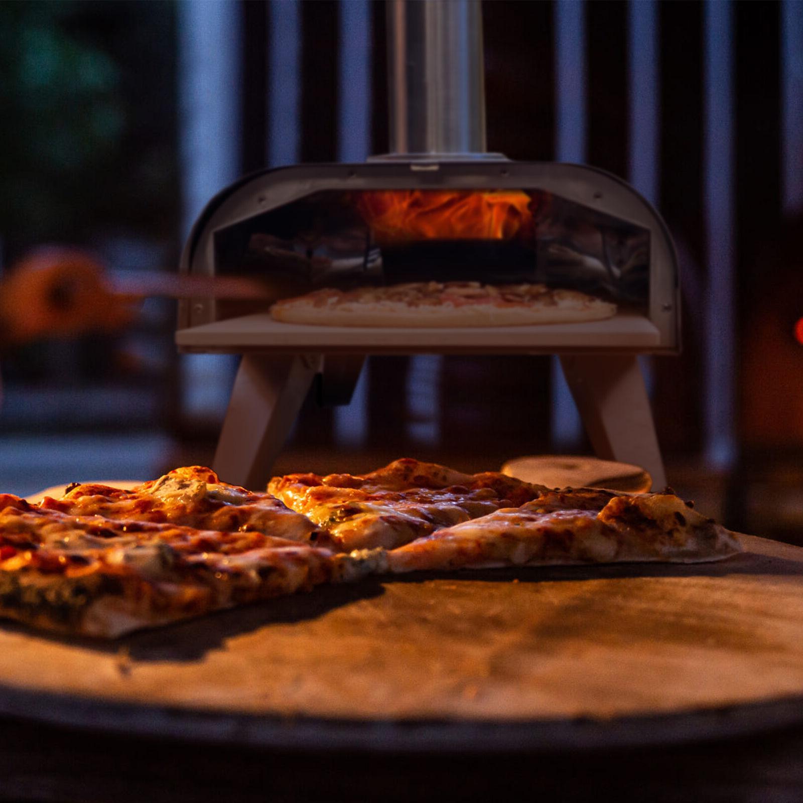 Big Portable Pizza Oven Grill Wood Smoker Food Grade