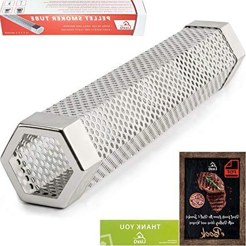 pellet smoker tube