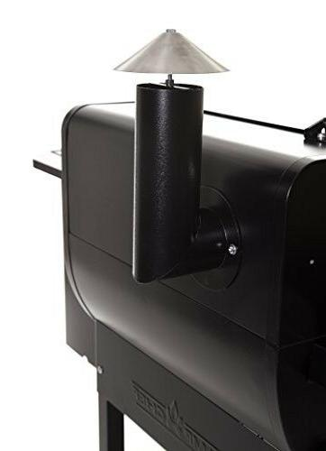 Camp Pellet Grill and BBQ with Digital and S