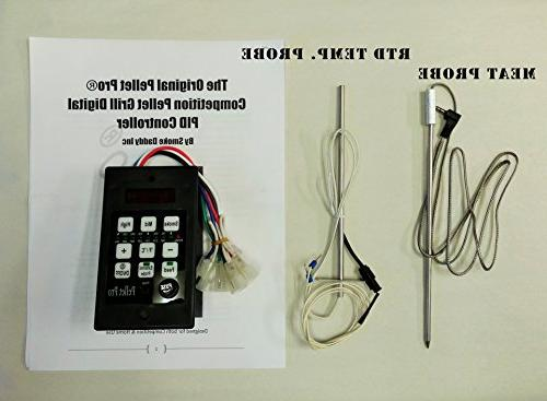 Pellet Grill Controller for Boss,Camp Chef, w/Adapter
