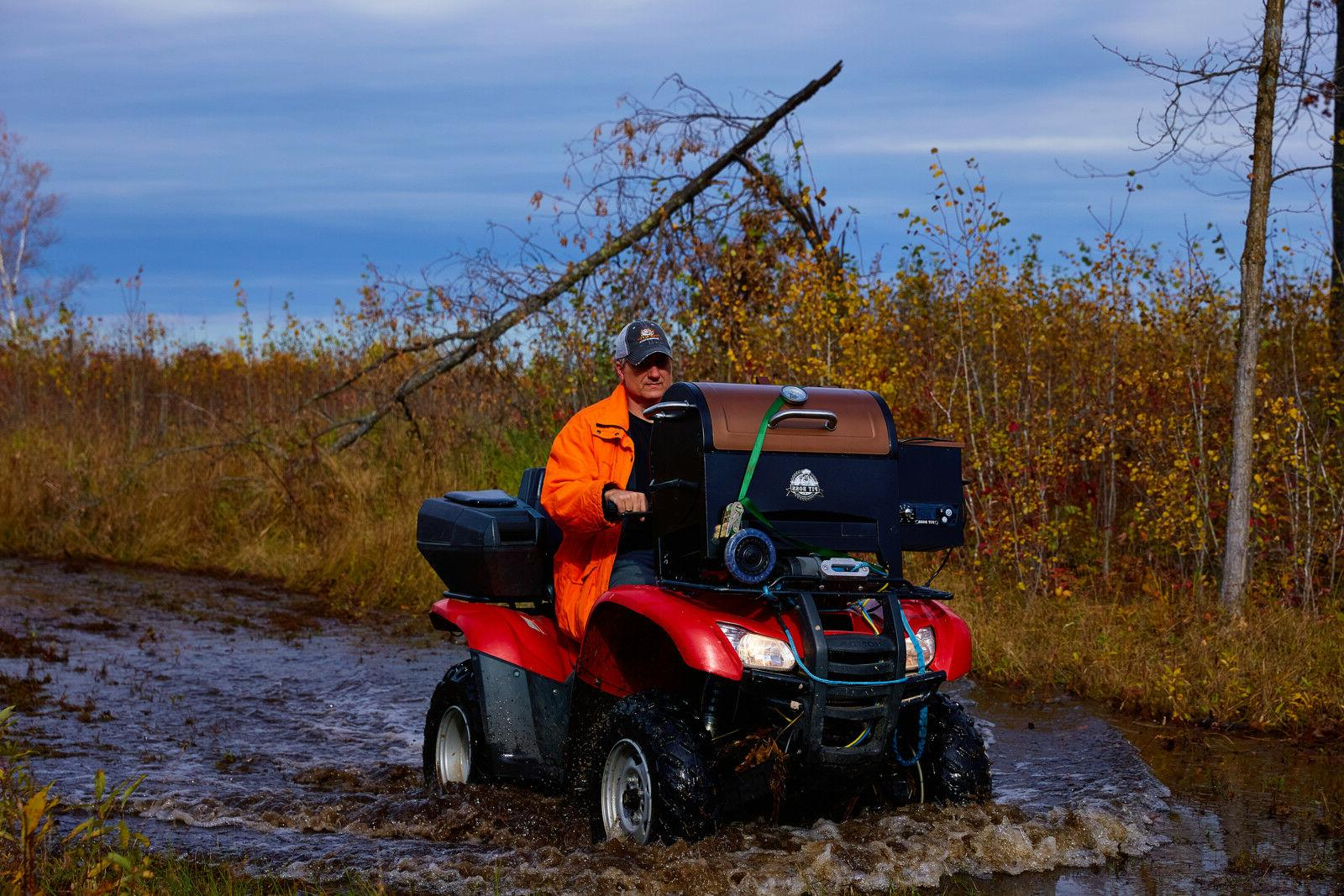 Portable Pellet Folding 340 inches Tailgate